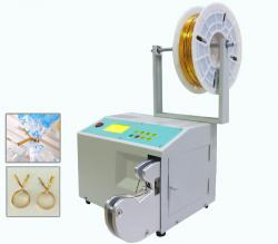 Gold wire twist ties machine for plastic bags